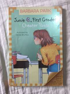 Junie B., First Grader Cheating Pants