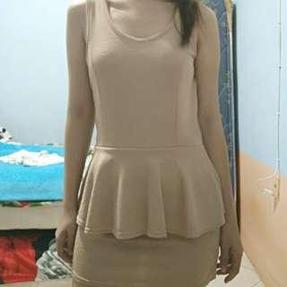 Sale! Brown mini dress
