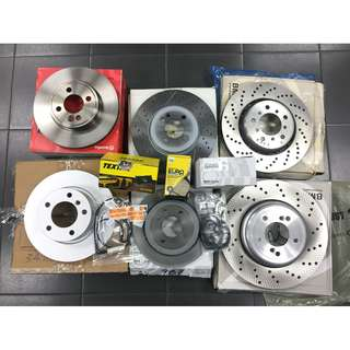 BMW 5 series E12 E28 E34 E39 E60 E61 F07 F10 F11 Brake Disc Rotor