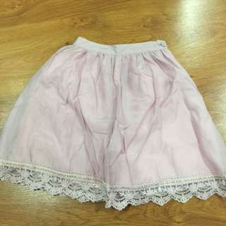 NWT Somerset Bay Skirt In Dusty Pink
