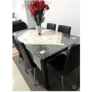 Dining Table Tempered Glass for sale!