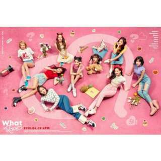 (NONPROFIT) TWICE 5th Mini Album - What Is Love Group Order