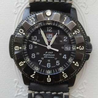 Jam tangan, Luminox, F-117, Nighthawk.