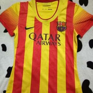 FCB dri-fit soccer jersey