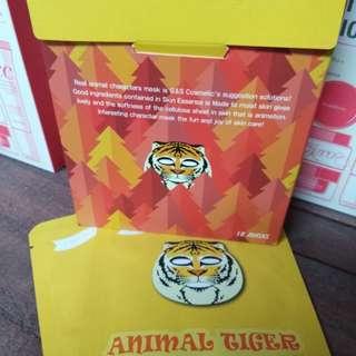 G&S tiger mask sheet 10pcs