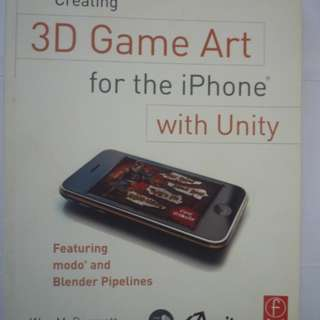3D Game Art for the iPhone with Unity (BOOK)