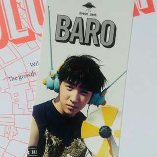 [EXCHANGE] B1A4 Solo Day Baro Photocard