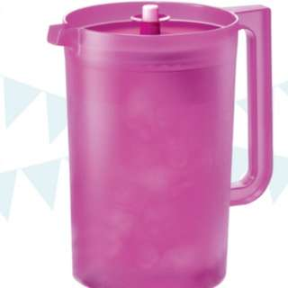 Tupperware Giant Pitcher 4.2L pink