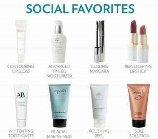 Different Nu Skin Products