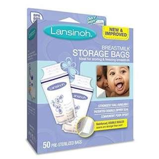 SALE! Lansinoh Breastmilk Storage Bags (2 packs)