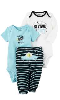 Carters 3 Piece Set