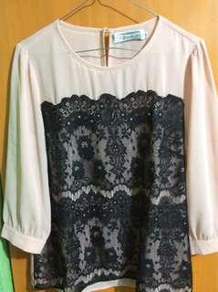 formal long sleeved blouse