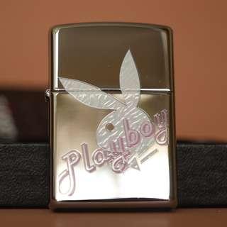 美國Zippo 打火機 24790 Playboy White