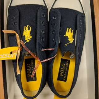 Brand New Kids Polo Ralph Slip-on Shoes