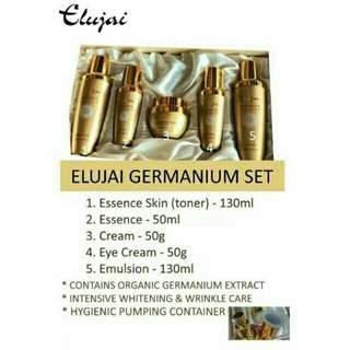 ELUJAI GERMANIUM SET