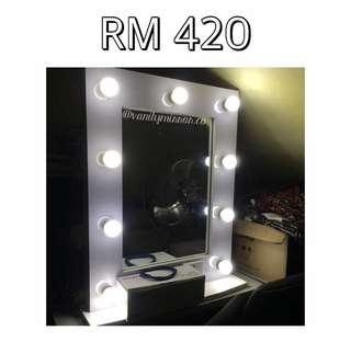 Reduced Vanity Mirror