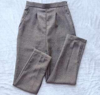 Dark Gray Trousers