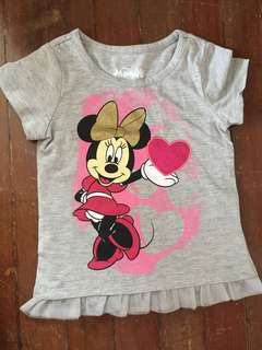 Disney Minnie Mouse Top