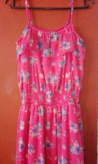 RUSH! Pink Floral Dress