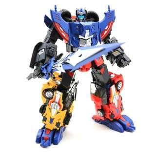 <IN STOCK> TFC Trinity Force (TF-01 Raging Bull / TF-02 Red Knight / TF-03 Wildhunter Wild Hunter) - Transformers Victory Road Caesar (Set of 3)