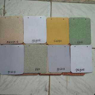 Lantai vinyl roll 1,6mm bermacam warna
