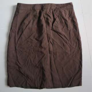 Esprit Brown Pencil Skirt