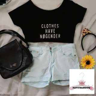 CHNG Crop Top in White