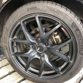SSR RIM WITH TYRES