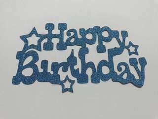 Birthday Cake Topper * Ready-Stocks! * Next Day Mail *