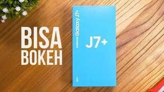 Samsung j7 plus anda dapatkan dalam 3 menit saja