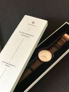 100% Authentic Brathwait Men's Watch - The Minimalist Luminous