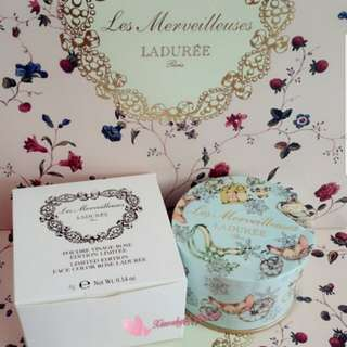 🌹LIMITED EDITION🌹👍FRESH ARRIVAL OFTEN👍💖SEALED AUTHENTIC BRAND NEW💖Les Merveilleuses Ladurée (Laduree) Face Petals ROSE 2-tones Blush cheek -- Mix to get 3 colours!(FRESH LATEST Manufactured=Active Ingredients)💋No Pet No Smoker Clean Hse💋