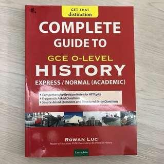 History O Level Guide Book
