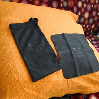 Pugkun Cloth 眼鏡布 & sunglass-bag 眼鏡袋