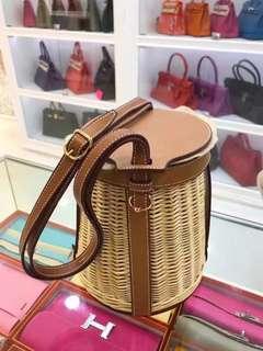 小極品🔥Hermes 限量絕版貨 竹籃 水桶包🤟🏻全新未使用品🙃