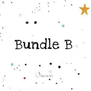 Bundle B (for 2.5yr old and above)