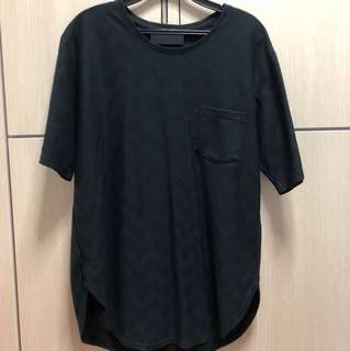 Oversized Men's Shirt in Black
