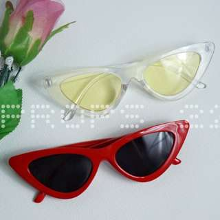 retro vintage fashion sunglasses - kacamata kekinian