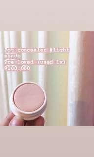 Pot concealer #light shade