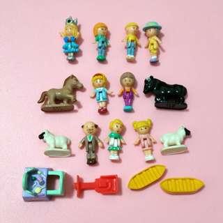 Bluebird Polly Pocket Figurine Animal Accessories