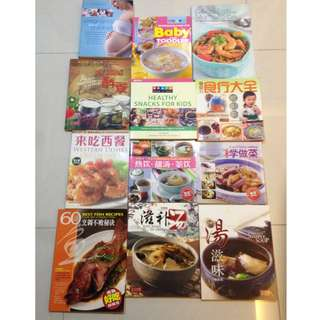 Cooking Books and Magazines (Healthy eating for your wife and kid)