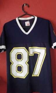 RUSH! Blue Jersey Tshirt