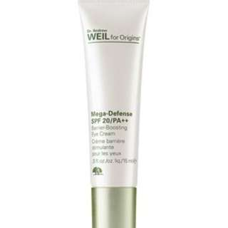 Origins Dr. Andrew Weil For Origins™ Mega-Defense SPF20/PA++ Barrier-Boosting Eye Cream, 15ml