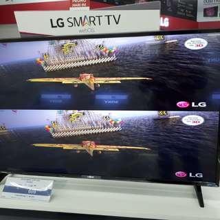 Bisa Cicilan Tanpa Kartu Kredit TV LG 43inch Smart TV