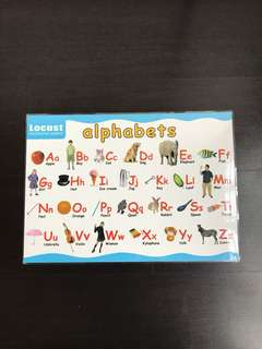 Educational Poster - Alphabets