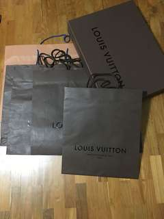 Authentic Louis Vuitton Paper Bag