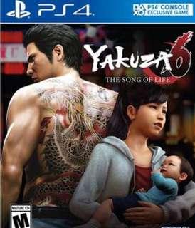 PS4 Yakuza 6 R3
