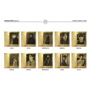 EXO EXODUS K version Sehun Album