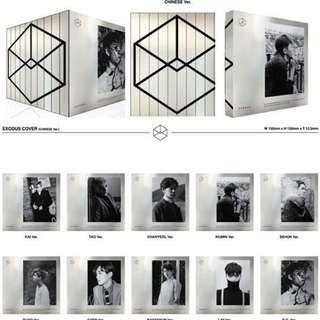 EXO EXODUS M version Sehun Album