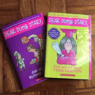 Dear Dumb Diary Bundle